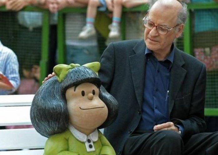 foto: Un año sin Quino, el papá de la entrañable Mafalda