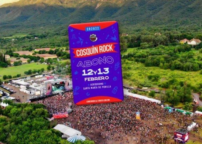 foto: Comenzó la venta de entradas del Cosquín Rock 2022: cuánto cuestan y dónde conseguirlas