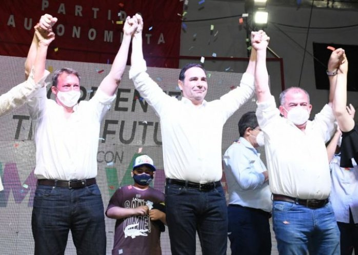 """foto: Valdés muy crítico con un Intendente que lo """"ninguneó"""""""