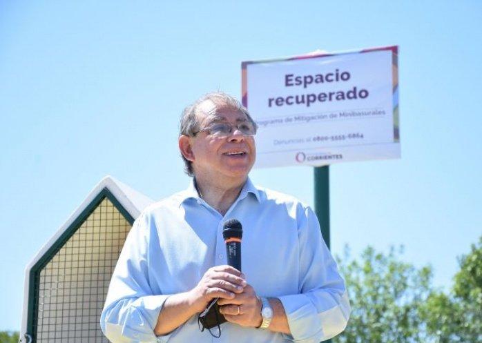 foto: Tassano inauguró el 92º espacio recuperado de la ciudad