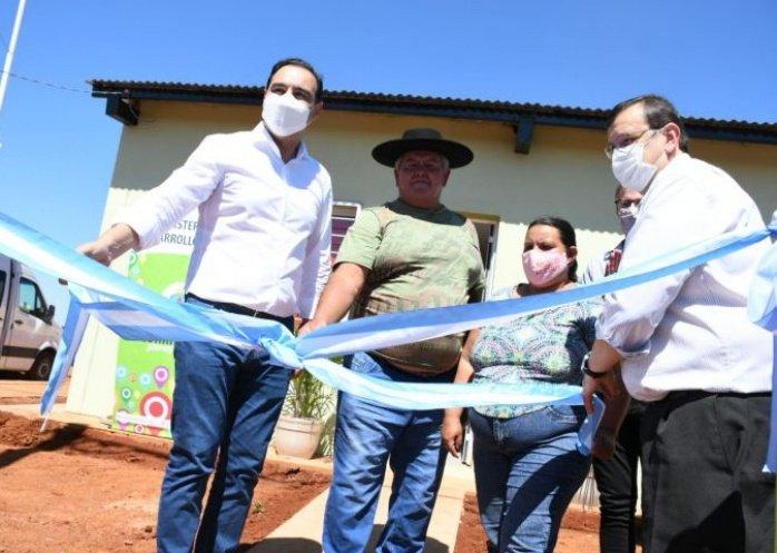 foto: Liebig: Valdés inauguró viviendas e infraestructura urbana