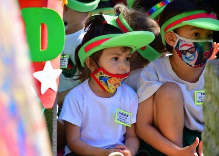 foto: Los Centro de Desarrollo Infantil compartieron una jornada recreativa